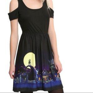 The Nightmare Before Christmas Border Print Dress